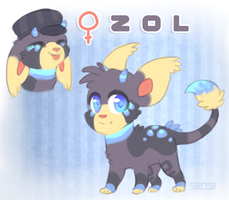 Auction- Sai and Coal's child: Zol! ENDED by Smushey