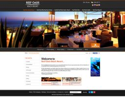Reef Oasis Hotels and Resorts - Hotel Landing Page by MaiEltouny