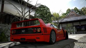 Ferrari F-40  back 2 by DjCaDiR