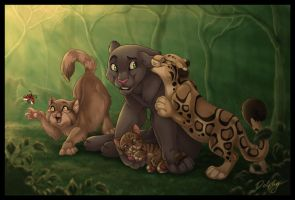 Jungle Friends by DolphyDolphiana