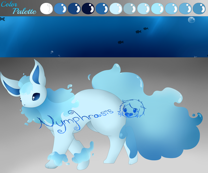 Water Type Flareon by Nymphrasis
