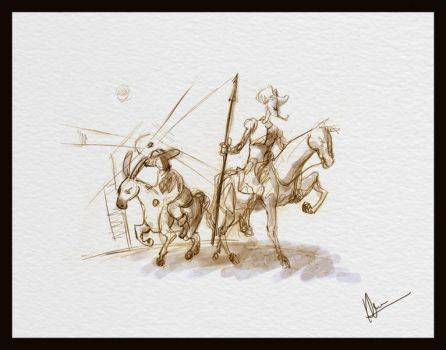 Quijote by kumitawapa