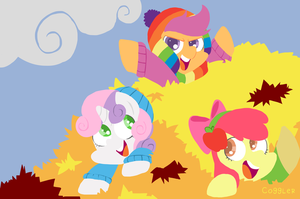 Cutie Mark Leafsaders by FrogAndCog