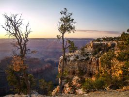 Grand Canyon: Rim Trail by j-ouroboros