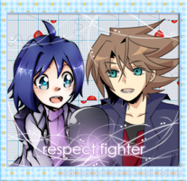 .: Collab : CFV : Respect Fighter :. by L-Y-R-I-E