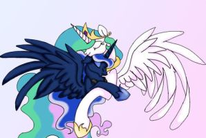 The Royal Sisters by ZodiacZero