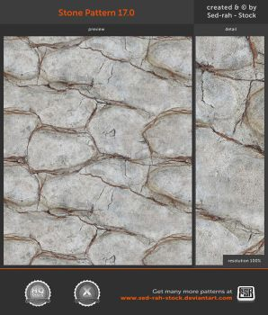 Stone Pattern 17.0 by Sed-rah-Stock