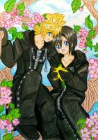 Roxas x Xion: their own world by dagga19