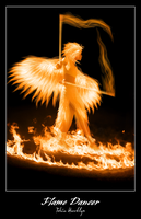 Flame Dancer - Print Update by talonian