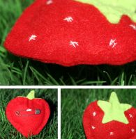 I heart strawberries by etoilehypnotic