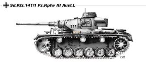 Sd Kfz141 1 Pz Kpfw III Ausf L by nicksikh