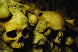 In the Paris Catacombs by Sabre131