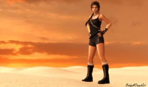 Tomb Raider Lara Croft - Dark Classic Survivor by bstylez