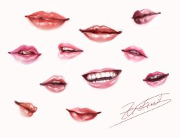 [Reference] Lips by Ze-RoFruits