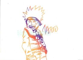 Naruto colored by ExplodingIchigo