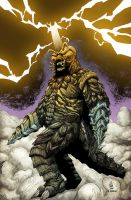 Megalon by Brian Soriano colored by Dany-Morales