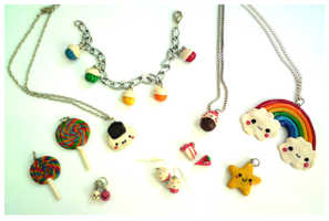 New fimo works by TokiCrafts