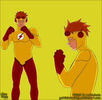 Kid Flash by MissKingdomVII