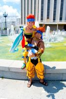 Wakka X Chappu by ShinrajunkieCosplay