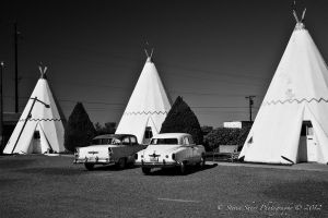Route 66  Holbrook, Az 1 by Mac-Wiz
