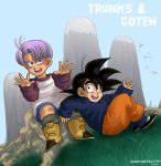 DBZ: Trunks n Goten by TechnoRanma