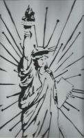 Statue of Liberty contrasto by ThePat