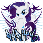 Rarity Spray by ThaddeusC