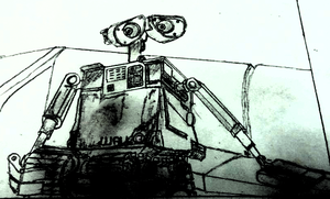 WALL E by andrew-silva