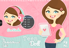 Teen Doll - GRATIS by WorldOfDolls
