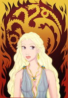 Daenerys version 2 by trishna87