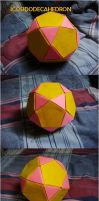 Origami Icosidodecahedron by silent-anton123