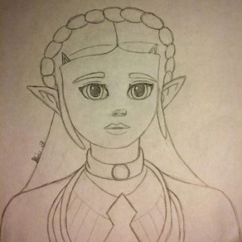 BoTW Princess by LOZRocksmysocks77