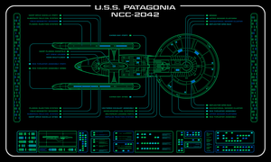 USS Patagonia - Master Systems Display by Rekkert