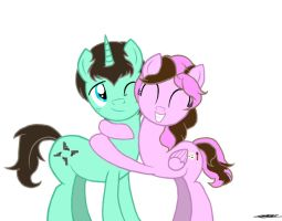 REQUEST: Dashing Sparkle and Minty Twist by WillisNinety-Six