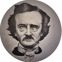 Poe Portrait Sketch by danXbaker