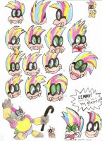 Iggy Expressions by EquidnaRojo