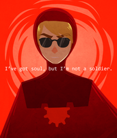 I've Got Soul But I'm Not a Soldier by uixela