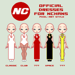 [Up] NChans Official Dresses (Pixel) by Masharu-Law