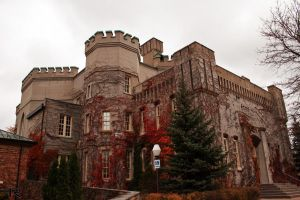 Castle Style Courthouse by LuminatX
