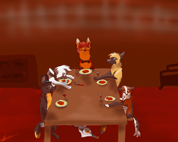 Come Dine With Me by EveryoneLovesKoko