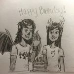 Birthday gift from Blogtier by Chernandez2020