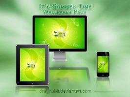 Its Summer Time Wallpaper Pack by draghubir