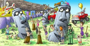 The Easter Island Situation by Osmont2
