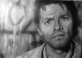 Castiel, Angel of the Lord by Lilleandra