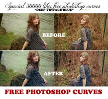 FREE PHOTOSHOP CURVES deep blue by AlexandraSophie