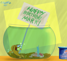 HB Mark - Fish Cake by qwertypictures