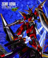 ZGMF-X-09-A Absolute Justice Gundam [Ver. JET] by Chaos217