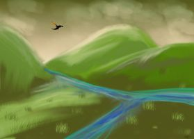 Speedpaint hills n stuff i think by autobotchari