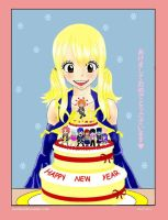 Happy New Year! Fairy Tail Style! by LOUdotD