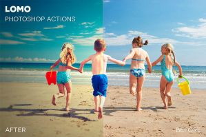 Lomo Photoshop Actions by photographypla-net
